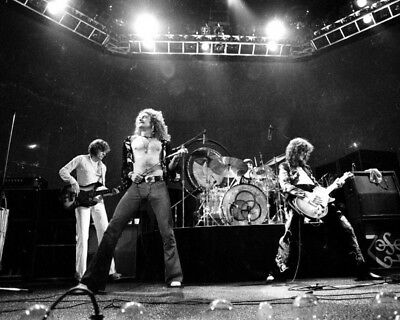 Led Zeppelin 8X10 Photo Music Pop Rock & Roll Picture
