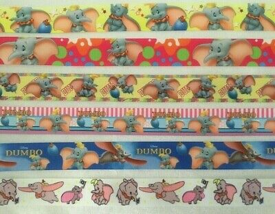 "Dumbo Grosgrain Ribbon sold by 2M - 7/8"" & 1"" - See listing for details - Craft"