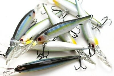 LUCKY CRAFT Lightning Staysee 90SP - 183 Pearl Threadfin Shad