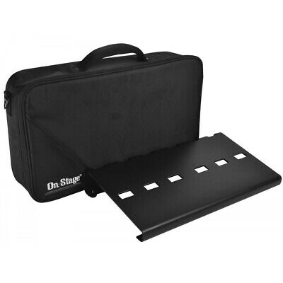 On Stage GPB3000 Pedal Board with soft carrying Gig Bag