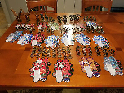 Heroscape Miniatures Figure 104 Figures, 55cards Rise of the Valkryrie master