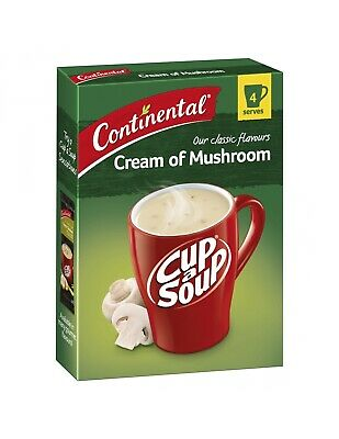 Continental Cream Of Mushroom Cup-a-soup 4 Serves 70gm