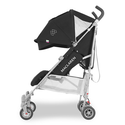 Maclaren Quest Stroller for Baby New Born & Up - Black/Silver Brand New