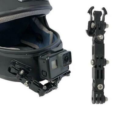 Front Full Face Adhesi Helmet Chin Shot Mount Kit for Gopro Hero 6 5 4 3 Camera