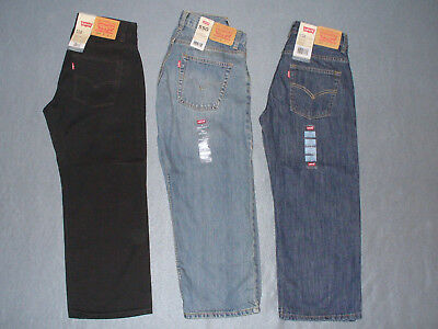 NWT Boy's Levi's 550 Relaxed Fit Tapered Leg Jeans - U Pick Color + Size
