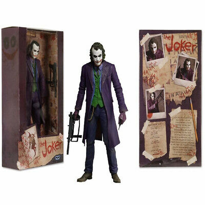"NECA DC The Joker In Batman Dark Knight 7"" Suicide Squad Action Figure Statue"