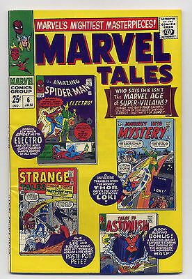 Marvel Tales #6 VG/F 1967 Comic Book Reprint 1st Electro Stan Lee Jack Kirby