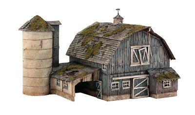 Woodland Scenics HO Scale Pre-Fab Building/Structure Kit Rustic Barn
