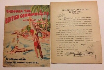 Vintage Lot Of 2 Through the British Commonwealth Lord Mayors Show Comics