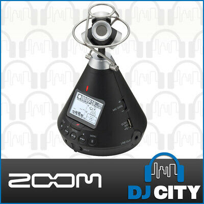 ZOOM-H3VR Wireless Portable Surround USB Battery Field Recorder 24Bit/96kHz