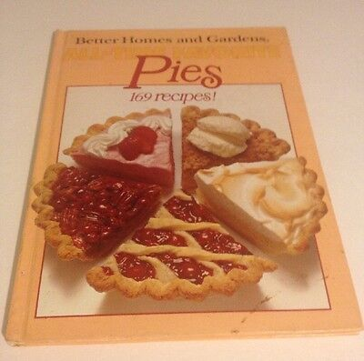 Vintage Recipes Better Homes & Gardens All Time Favorite Pies Hardcover Book