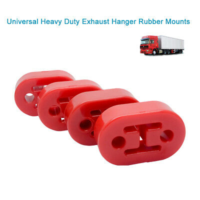 4 Pcs Heavy Duty Exhaust Hanger Bracket Mounting Rubber Replacement 24mm Thick