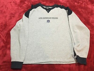 Los Angeles LA Kings Nike Sweater Jumper Cap Grey