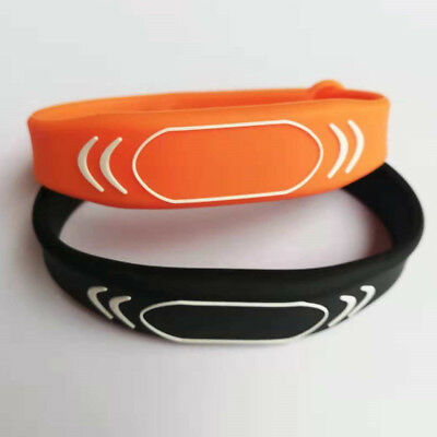 block 0 writable UID changeable wristband 13.56mhz mf1 s50 1K bracelet - 2pcs