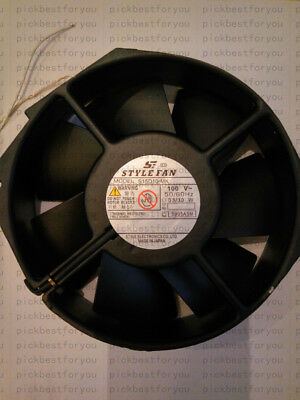 1pc STYLE FAN S15D10-MK AC100V 33/30W 172*150*38MM high-temperature fan #MH19 QL