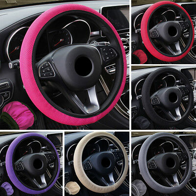 Hand Brake Gear Shift Knob Steering Wheel Case Cover Sleeve Protector Seraphic