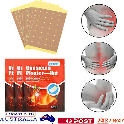 24 Pain Relief Capsicum Plaster For Joint Back Neck Shoulder Muscle Health Patch