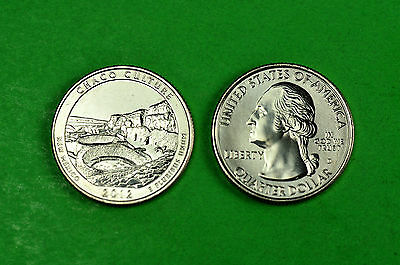 2012- P&D BU Mint State(CHACO CULTURE)US National Park Quarters (2 Coins)