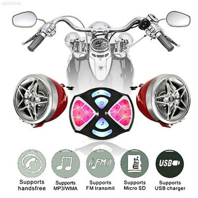 7A4B 12V Motorcycle MP3 Player Motorcycle Audio Motorbike TF FM Music Player