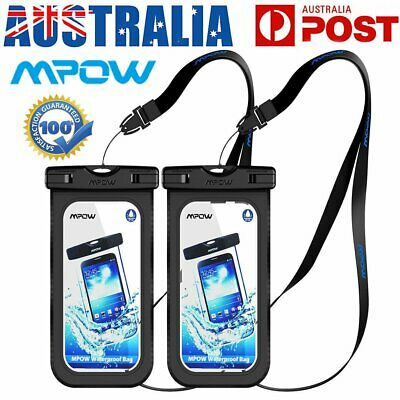 1/2x MPOW Floating Waterproof Underwater Phone Pouch Bag Case for iPhone Samsung