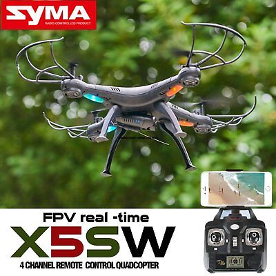SYMA X5SW WiFi FPV 2,4 G 4CH 6Axis Gyro RC Quadrocopter Drohne 2MP HD Kamera RTF