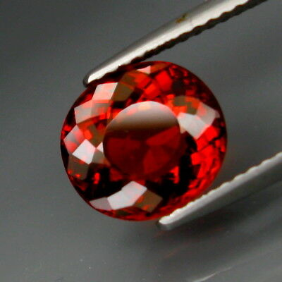 3.03Ct.Outstanding Color! Natural Red Spessartite Garnet Africa