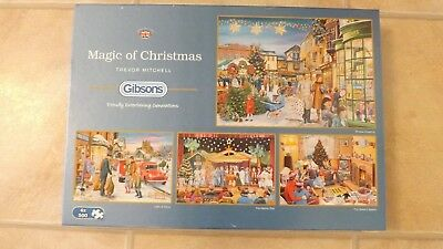 Christmas Jigsaw Puzzle (4 x 500 Pieces