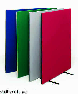Free Standing Office Partition Room Divider Screen Choice of 12 colours