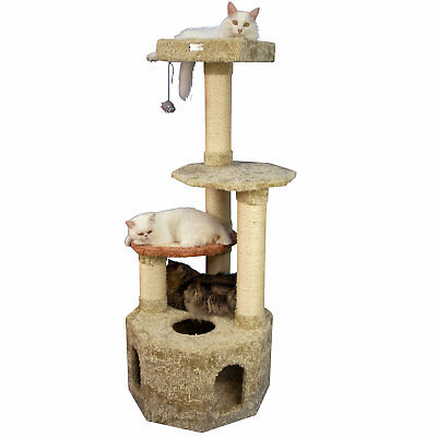 "Armarkat Premium Cat Tree Model X5703 Khaki, 57"" H"