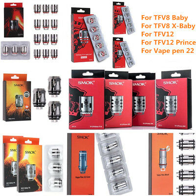 Replace Coil Cores Coil for TFV8 Baby TFV8 X-Baby TFV12 Prince T10 M4 X6 Q2 Mesh