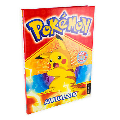 The Official Pokemon Annual 2019 Hardback, Activities, Stories, Games, Ash, Pika