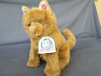 "Nine Lives ""morris"" The Cat 11"" Plush Sample - Fun For All Corp"" - Talking"