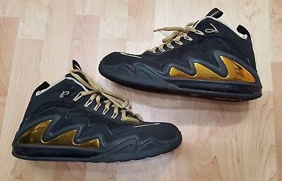 8f0754f224 Nike Men s Size 12 Air Max 360 Diamond Griff 580398-001 Black Gold Shoes ...
