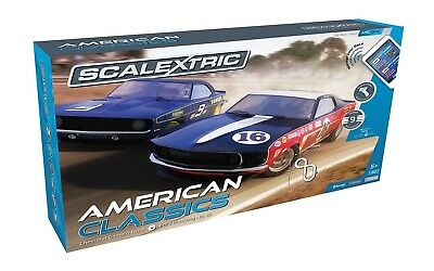 Scalextric American Classics Set. Unbranded. Free Shipping