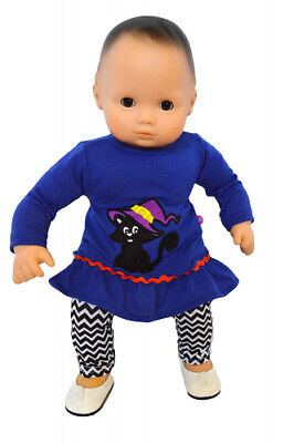 Brittany's Spooky Kitten Outfit for Bitty Baby Dolls- 38cm Doll Clothes