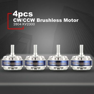 4pcs TC-M 2804 2300KV 12T 2–3S CW/CCW Brushless Motor for RC Racing Drone YM