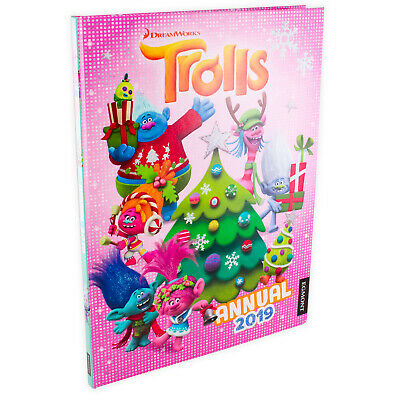 DreamWorks Trolls Annual 2019 Hardback, Activities, Games, Puzzles, Facts
