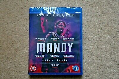 BLU-RAY MANDY ( NICOLAS CAGE )    BRAND NEW SEALED UK STOCKa