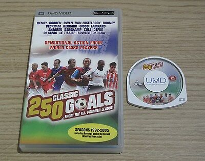 250 Classic Goals From The F.A Premier League - UMD for the Sony PSP