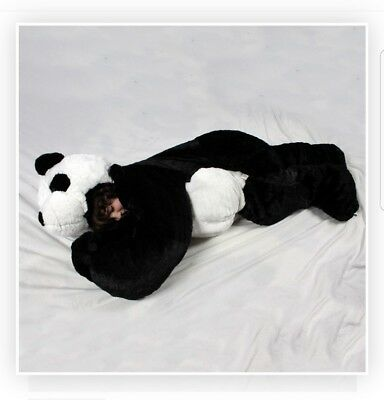 "The Second Generation SnooZzoo Panda Bear Sleeping Bag  - Children (36""-54"")"