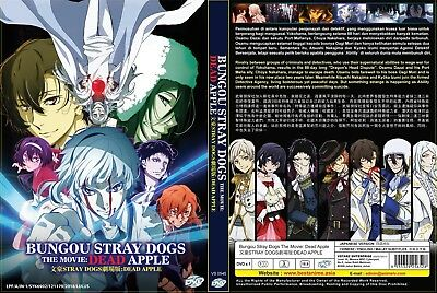 Bungo Stray Dogs: Dead Apple (Movie) ~ DVD ~ English Subtitle ~ Japan Anime ~