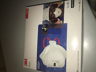 3M Aura 9332+ Dust Masks 10 Boxes ffp3 Expiry year 20/23 Dispatched Same Day
