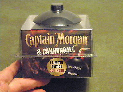 Nib Captain Morgan Spiced Rum Limited Edition Cannonball Cup Unopened Unused