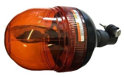 Maypole Amber Din Pole Mount Halogen Rotating Recovery Beacon 12/24 Volts Mp4083