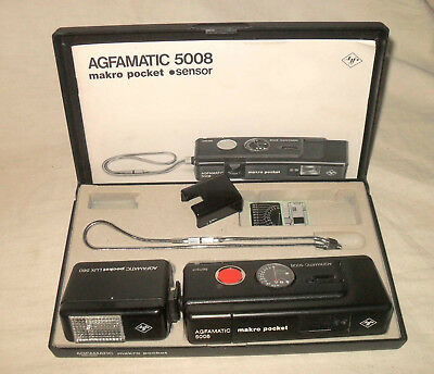 Agfa Agfamatic 5008 makro pocket in Box