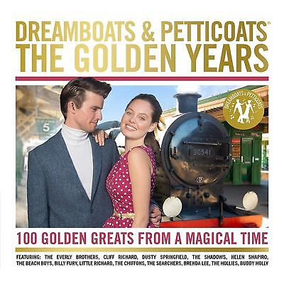 DREAMBOATS AND PETTICOATS THE GOLDEN YEARS 4 CD VARIOUS (New Release 2018)
