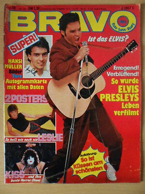 BRAVO 10 1.3. 1979 Elvis Siouxsie and the Banshees Sweet Udo Lindenberg Paola