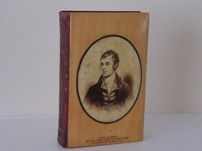 Antique Mauchline Ware Robert Burns Book Of Poems & Songs