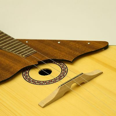 Wooden bridge with fret for Balalaika-Domra Original Balalayka Handmade - UK