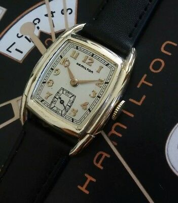 Vintage 1939 Mans Hamilton DODSON Fully Serviced Ready To Wear